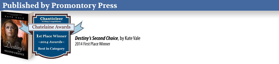 Kate Value on Promontory Press