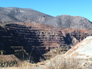 Another view of the Lavender Open Pit Mine