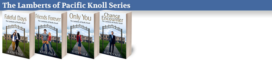 The Lamberts of Pacific Knoll Series by Kate Vale