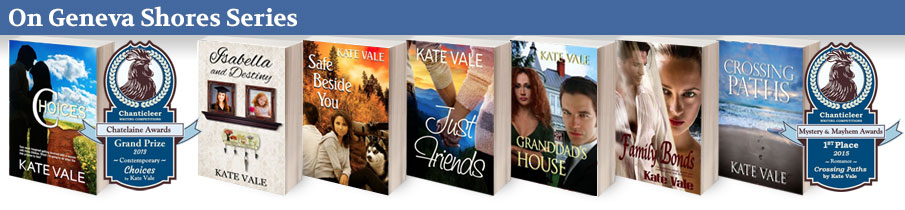 On Geneva Shores Book Series by Kate Vale